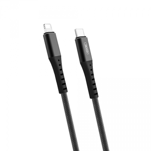 XO kabel PD NB123 USB-C - Lightning 1,0 m 18W czarny
