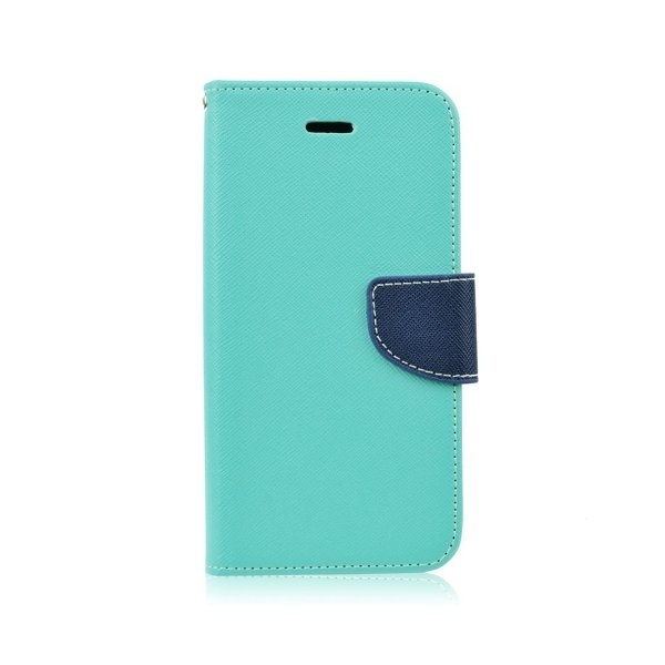 Kabura Fancy Book - SAM Galaxy S7 Edge (G935) miętowy/granatowy