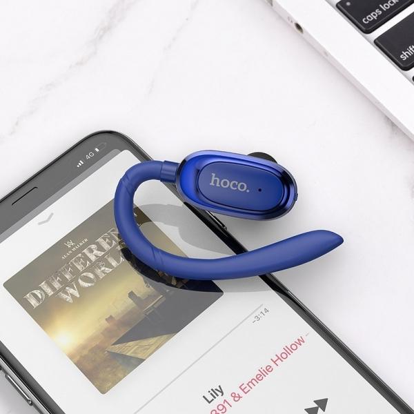 HOCO słuchawka bluetooth bluetooth Encourage E26 plus niebieski