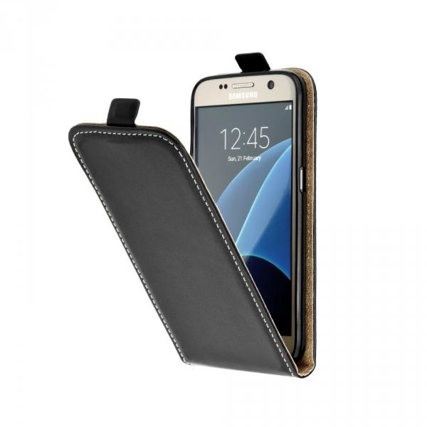Kabura Slim Flexi Fresh Pionowa - LG G7 czarny