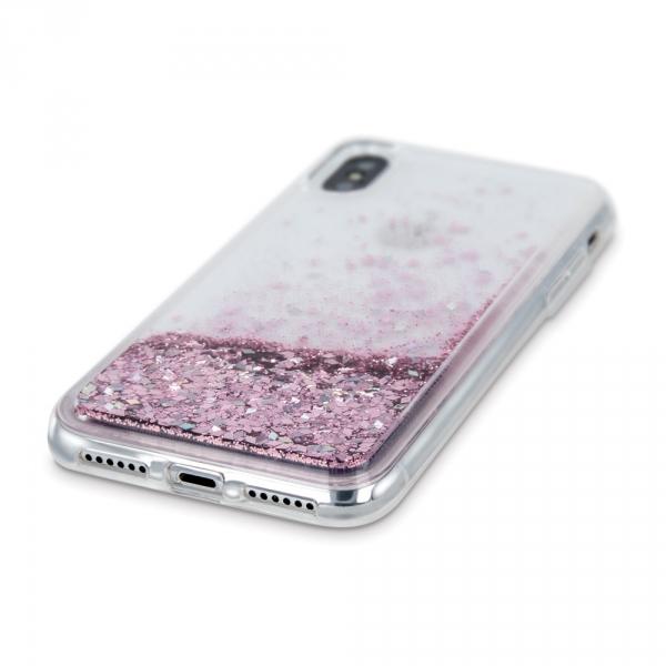 Nakładka Liquid Sparkle TPU do iPhone 11 Pro Max fioletowa