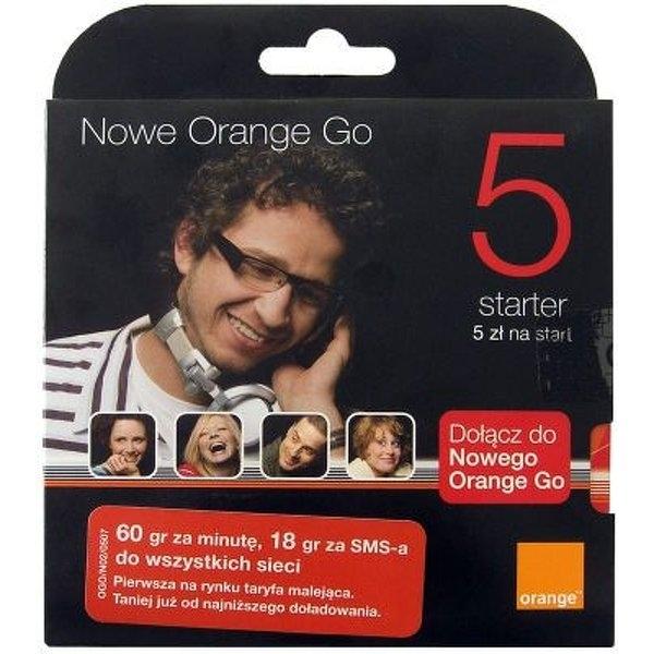 Karta Startowa Orange 5 Yes