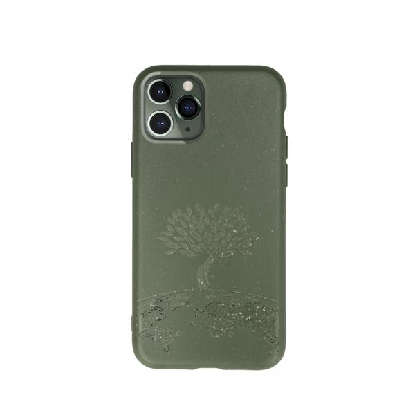 Forever Nakładka Bioio Drzewo do iPhone 11 zielona
