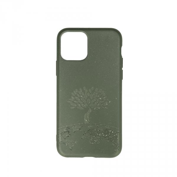 Forever Nakładka Bioio Drzewo do iPhone 11 Pro Max zielona