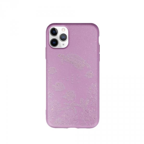 Forever Nakładka Bioio Ocean do iPhone 11 Pro różowa