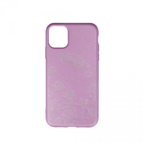 Forever Nakładka Bioio Ocean do iPhone XS Max różowa