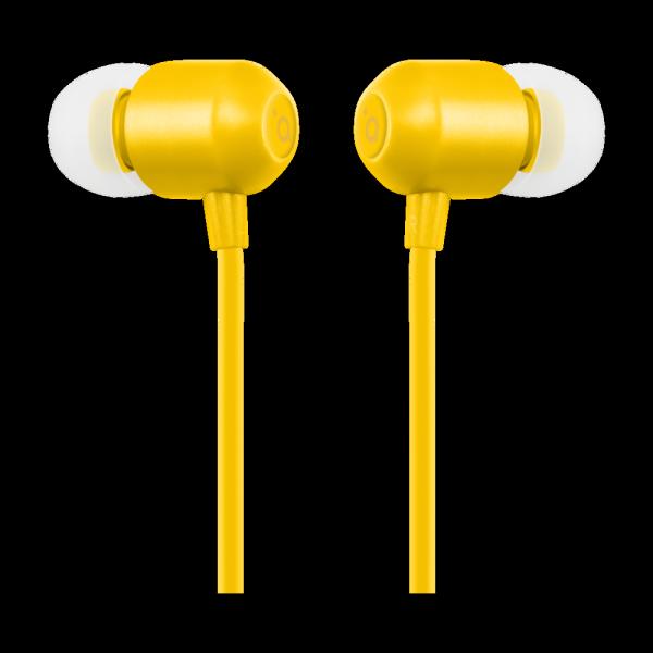 ACME EUROPE Słuchawki przewodowe douszne z mikrofonem HE21Y żółte